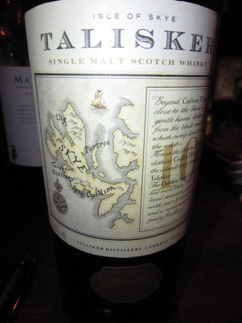 タリスカー Talisker 10yo (45.8%, OB, +/-1989)