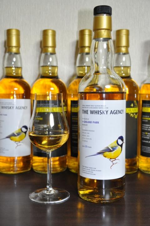 """ハイランドパーク  Highland Park 25yo 1985/2010 (54.6%, The Whisky Agency, """"Birds"""", 132 Bts,) Ex-Bourbon"""