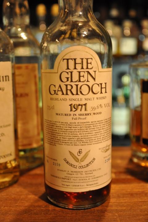 グレンギリー  Glen Garioch 1971  (59.6%, OB  for Samaroli, 2280 bottles, sherry, 75cl) 2159/2280