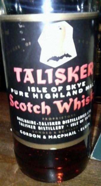 タリスカー Talisker NAS (40%, G&M, Red on Black, Eagle Label)
