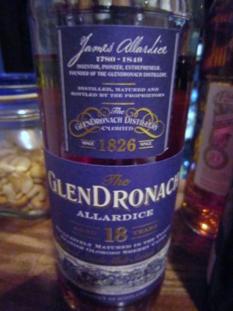 グレンドロナック Glendronach 18yo 'Allardice' (46%, OB, Oloroso Sherry, Lot #1, 6600 Bts., B04/'09)