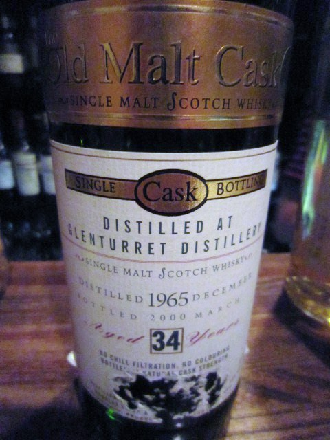グレンタレット Glenturret 34yo 1965/2000 (45.3%, Douglas Laing OMC)