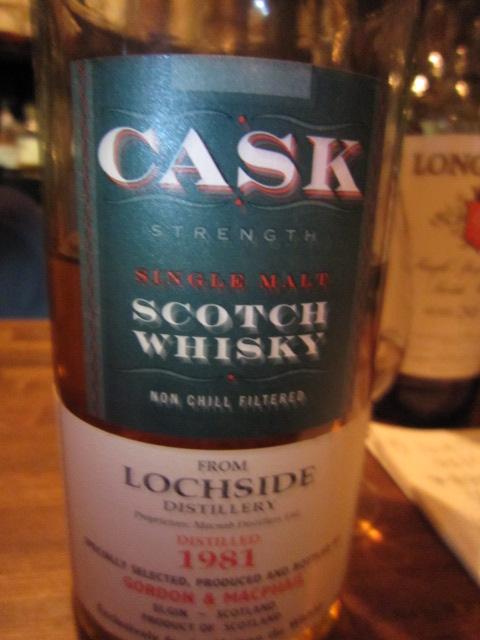ロッホサイド Lochside 1981/2009 (56.1%, Gordon & MacPhail for LMdW, refill sherry hogshead, C#803, 199 Bts.)