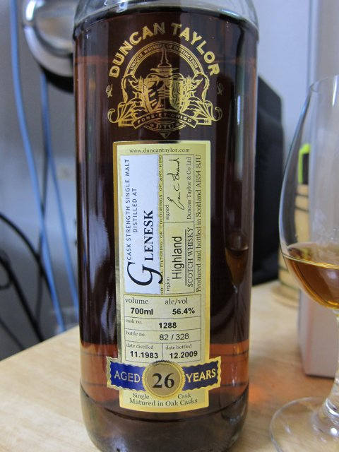 DTグレネスク1983-2009(26年)#1288 Sherry cask 56.4%