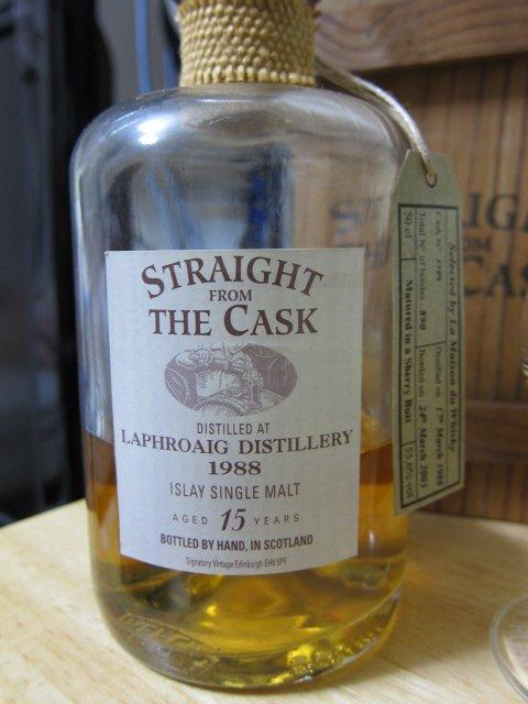 """SV SFTC ラフロイグ1988-2003 """"for Maison du Whisky"""" #3599  55.6%"""