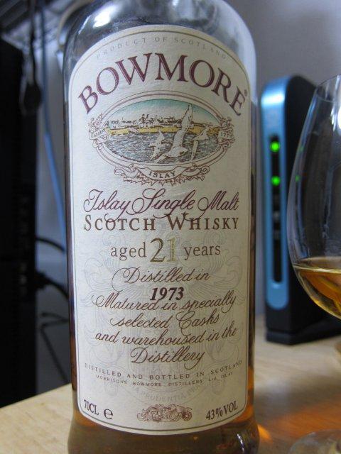 OBボウモア1973(21年) 43% 株式会社ワイン取扱