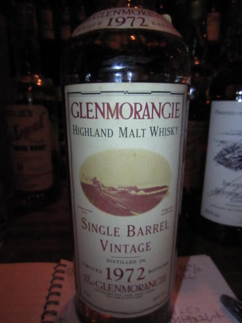 グレンモーレンジ Glenmorangie 1972/1993 'Single Barrel' (46%, OB, C#1797)