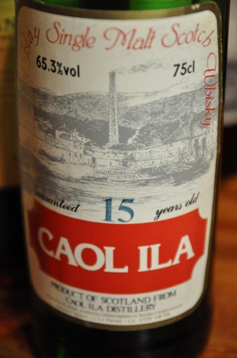 カリラ Caol Ila 15yo (65.3%, Sestante, 75cl) 1970年代後半~