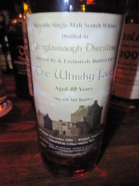 グレングラッサ Glenglassaugh 40yo 1965 (46.7%, TWF, Fino Sherry butt, 361 Bts.)