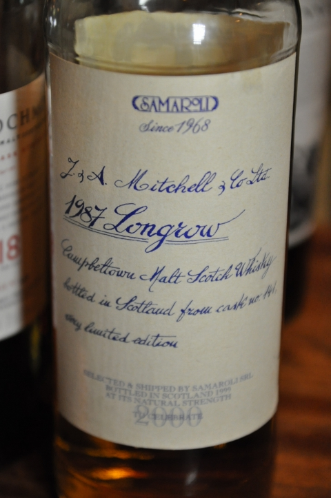 ロングロウ Longrow 1987/1999 (55%, Samaroli, 'To celebrate 2000') C#141