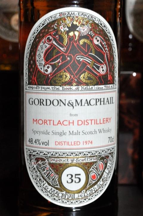 モートラック Mortlach 35yo 1974/2010 (48.4%, Book of Kells , cask#8263 , Refill American Hogshead, 23/81 Bts, Gordon & MacPhail  for JAPAN IMPORT SYSTEM)