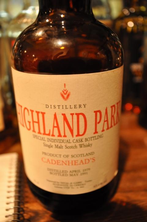 ハイランドパーク  Highland Park 12yo 1979/1991 (65.2%, Cadenhead's, D04/'79 B05/'91) Special Individual Cask Bottling for Dival di Gabri