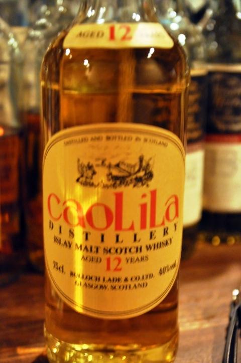 カリラ Caol Ila 12yo (40%, Bulloch Lade & Co. Ltd., 75cl, Orange label)