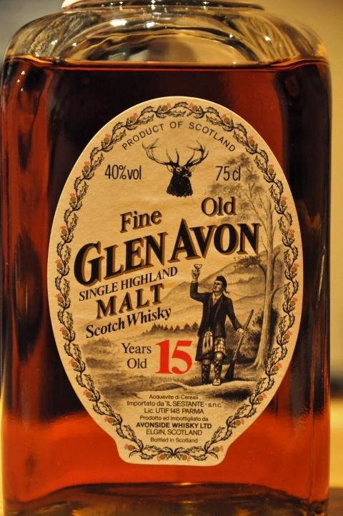 マッカラン Glen Avon 15yo (40%, G&M for Sestante, +/-1980, Macallan)