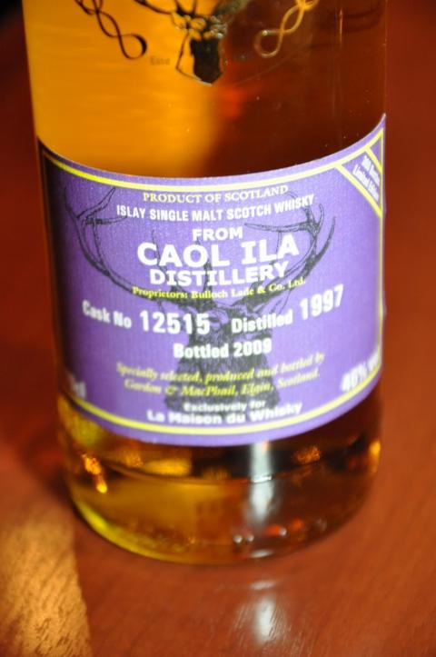 カリラ Caol Ila 1997/2009 (46%, G&M Reserve for LMDW, C#12515, 360 Bts.) Refill Sherry Hogshead