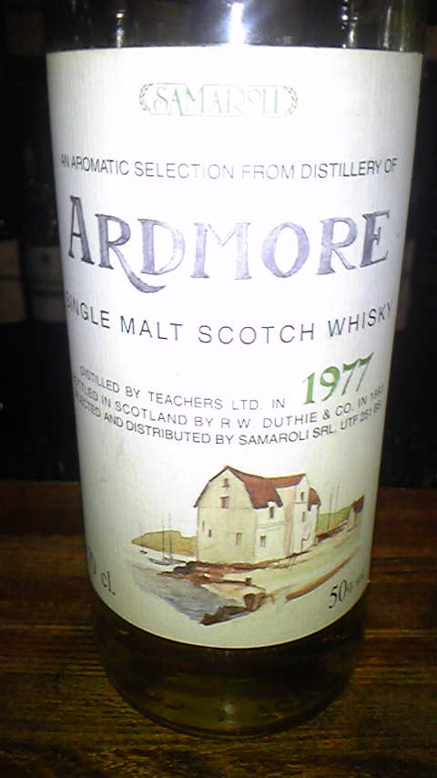 アードモア Ardmore 16yo 1977/1993 (50%, DUTHIE for Samaroli, C#6574, 288 Bts.)