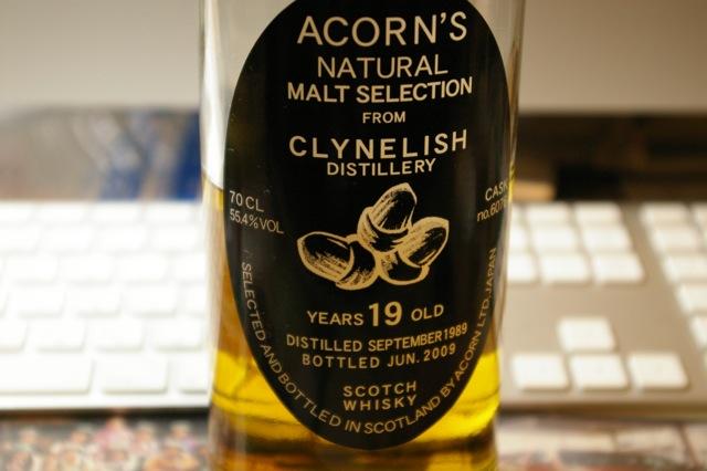 クライネリッシュ Clynelish 19yo 1989/2009 (55.4%, Acorn, C.#6076)
