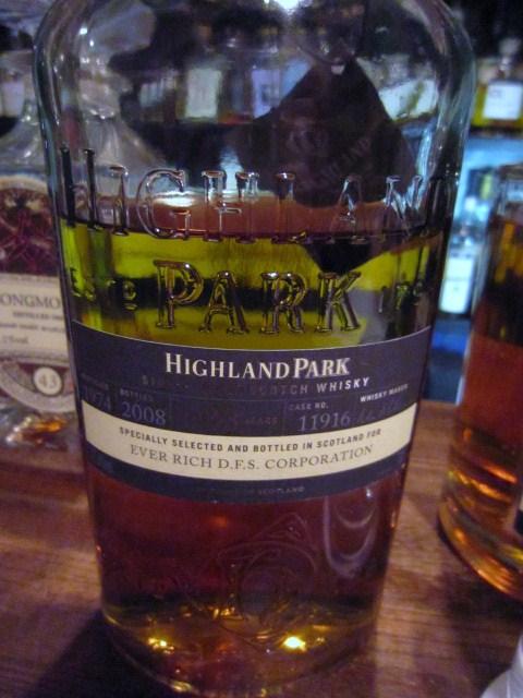 ハイランドパーク Highland Park 33yo 1974/2008 (47.8%, OB for EVER RICH .D.F.S. corp, C#11916, Taiwan)