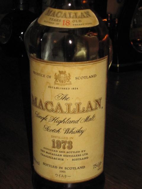 マッカラン Macallan 18yo 1973/1991 (43%, OB)