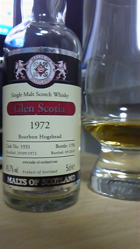 MoS Glen Scotia 1972/2010 45.7% #1931