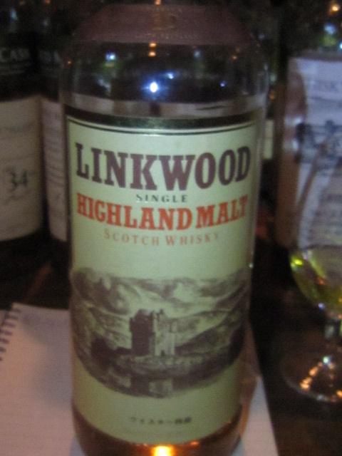 リンクウッド Linkwood 12yo (43%, OB, Castle Drawing Label, +/-1980) 国内正規 巴工業 ウイスキー特級