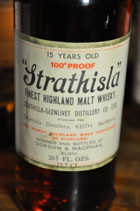 ストラスアイラ Strathisla 15yo (100 Proof, G&M Licensed bottling, 1970's, 26 2/3FL.OZS)