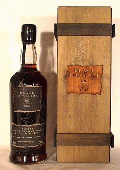 ボウモア Bowmore 1964/1993 'Black' (50%, OB, 2000 Bts., First edition)