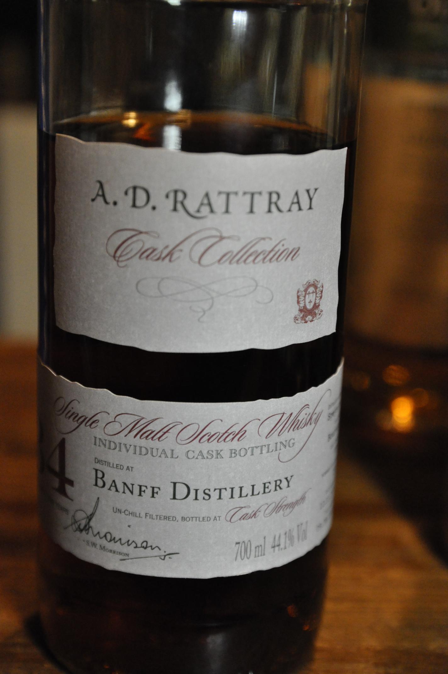 バンフ Banff 34 yo 1975/2010 (44.1%, A.D. Rattray, cask #3354, 250 bottles)