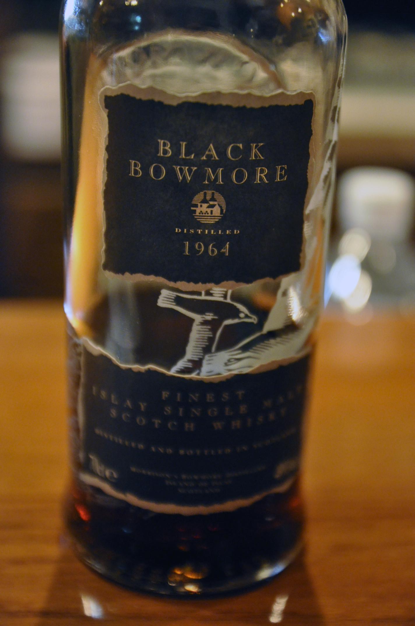 ボウモア Bowmore 1964/1995 'Black' (49%, OB, Final edition **3rd) 日本正規 サントリーアライド