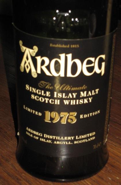 アードベッグ Ardbeg 1975/1998 (43%, OB)