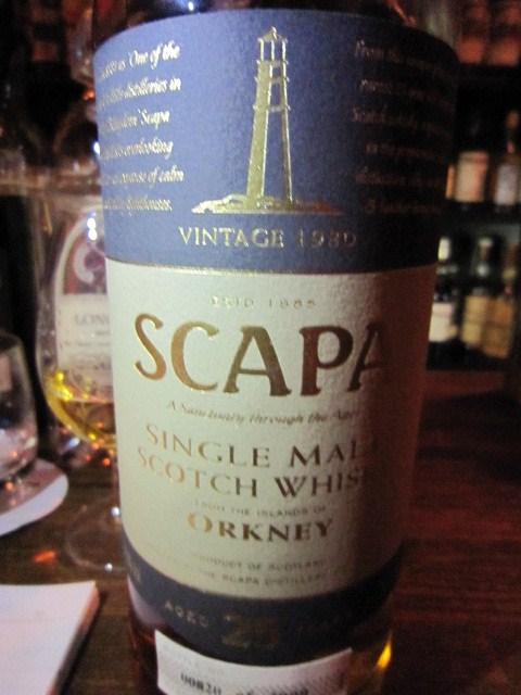 スキャパ Scapa 25yo 1980/2005 (54%, OB, 820/2000bts)