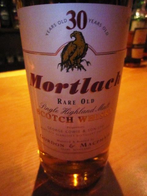 モートラック Mortlach 30yo (46%, G&M for LMdW)