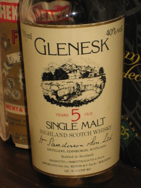 グレネスク Glenesk 5y (40%, OB, 70's)