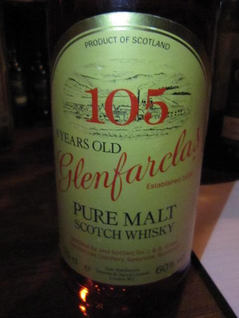 グレンファークラス Glenfarclas 8yo '105' (60%, OB, Yellow label, 75cl)