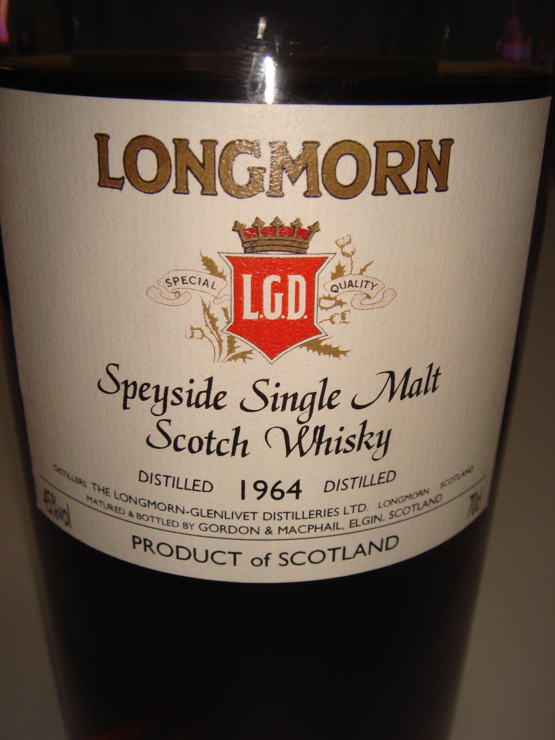 Longmorn 1964 – 2010 / G&M 46年 LMdW向け