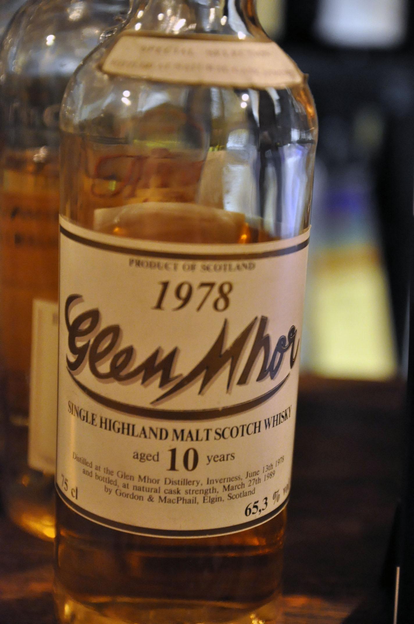 グレンモール Glen Mhor 10yo 1978/1989 (65.3%, G&M for Intertrade, 300bts, 75cl)