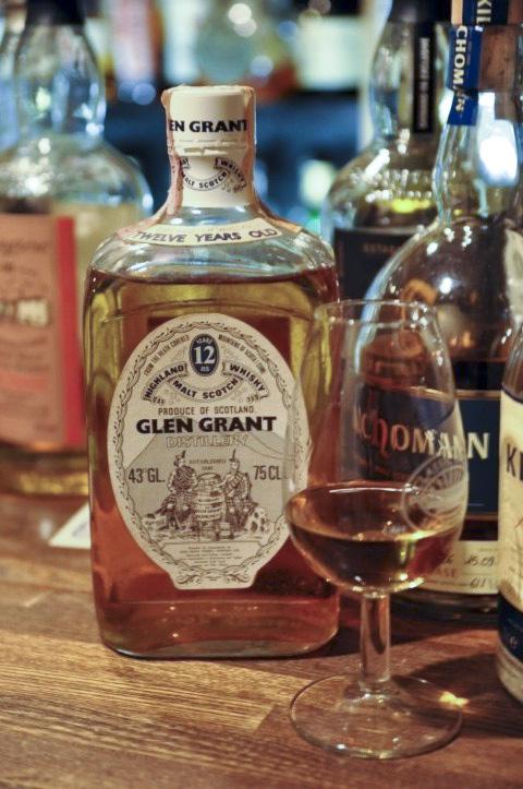 グレングラント  Glen Grant 12yo (43%, OB, Square Bottle)