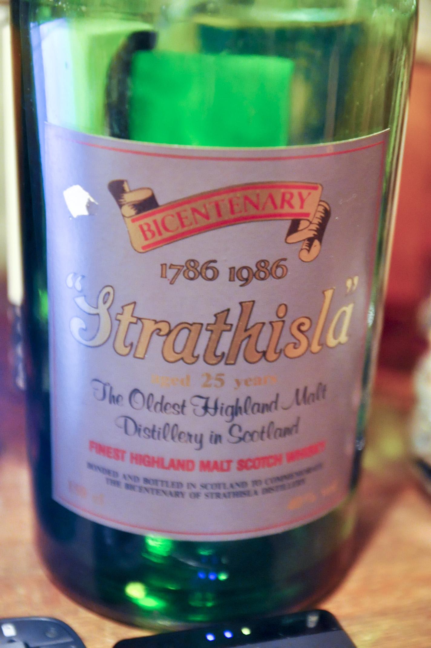 ストラスアイラ Strathisla 25yo (40%, OB, Bicentenary, c1986, 500btls, 1.5L) intertrade import