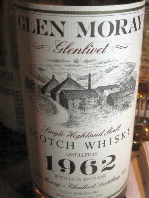 グレンマレイ Glen Moray 1962 (43%, OB, 1990's)
