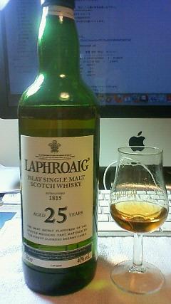 OB Laphroaig 25yo.