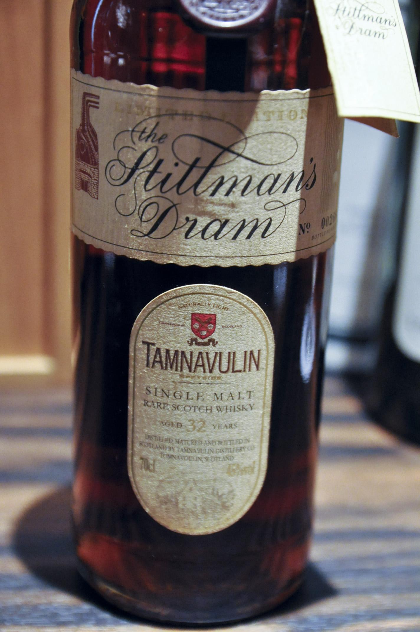 タムナブリン Tamnavulin 32yo (45%, OB, The Stillman's Dram, btl no. 00268, 00's)