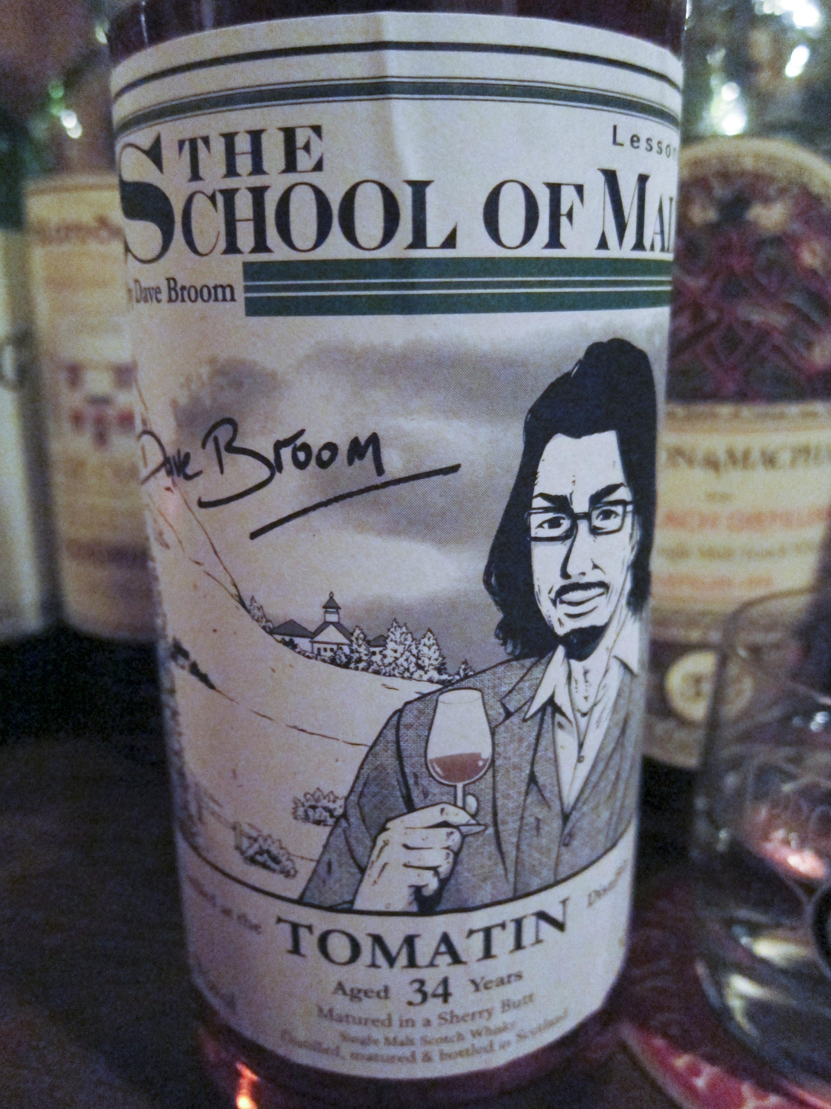 トマーチン Tomatin 34yo 1976/2011 (51.3%, whisk-e, The School Of Malt, lesson 1, Dave Broom)