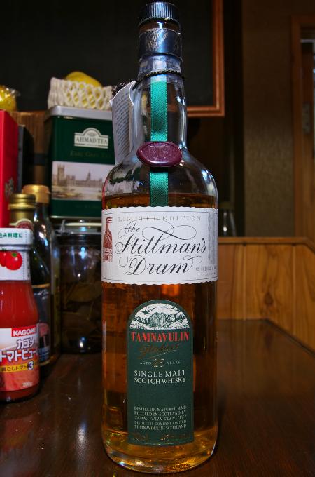Whiskylink 写真部 Tamnavulin 25yo 45%        The Stillman's Dram