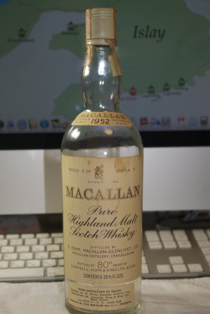 Macallan 1952.(注:テイスティング・コメントなし)