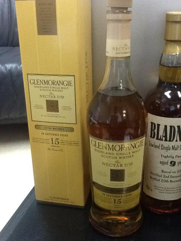 グレンモーレンジ Glenmorangie Nectar D'or 15yo (46%, OB, Sauternes Finish)