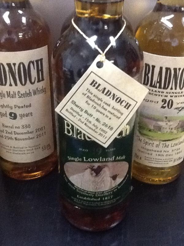 ブラドノック Bladnoch 19yo 1992/2011 (55%, OB, Sherry Butt, C#2618)