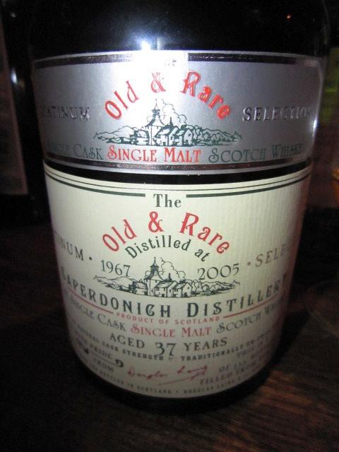 キャパドニック Caperdonich 37yo 1967/2005 (56.4%, Douglas Laing Platinum, rum finish, 133 Bts.)