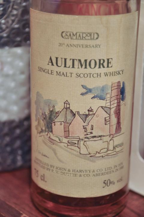 オルトモア Aultmore 1974/1988 (50%, Duthie for Samaroli, 20th Anniversary)