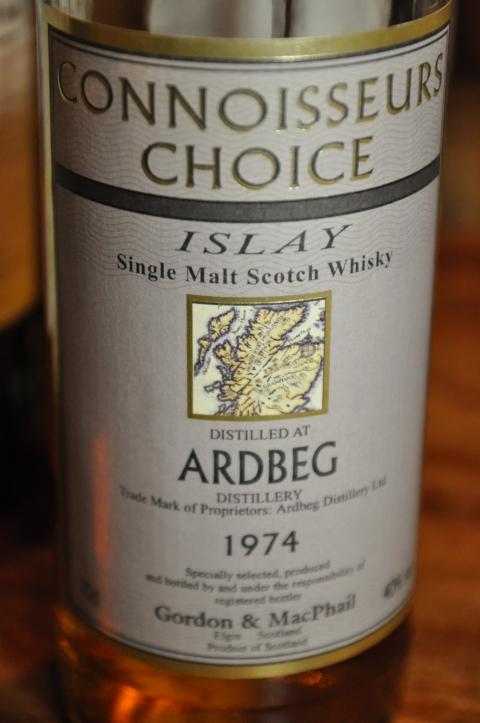 アードベッグ Ardbeg 1974/1997 (40%, G&M Connoisseurs Choice) 1997