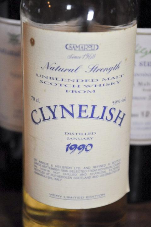 クライネリッシュ Clynelish 1990/1998 (59%, Samaroli , C#1015/1016, 443/492 Bts.)